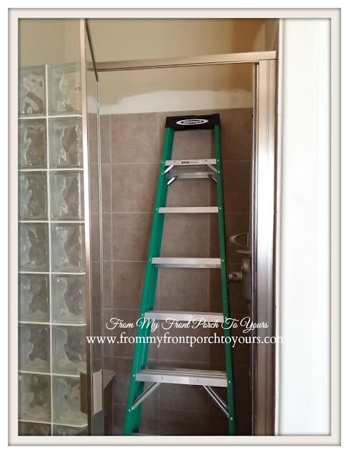 Master bathroom update-Painting- From My Front Porch To Yours
