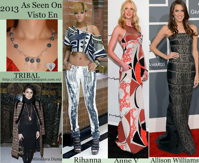 Actresses and models style/ Estilo de actrices y modelos, Miroslava Duma, Rihanna, Anne V, Allison Williams
