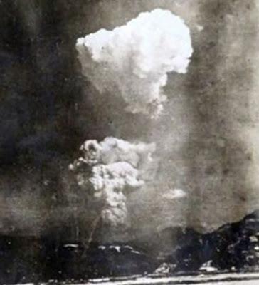 nueva foto de bomba atómica en hiroshima