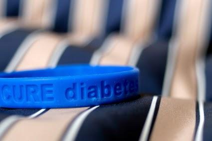 Cure diabetes bracelet
