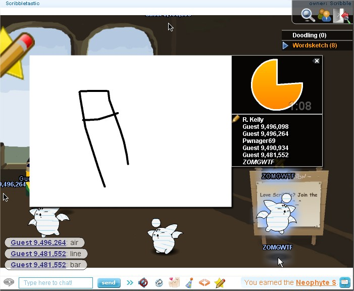how to make your own chat room on kongregate