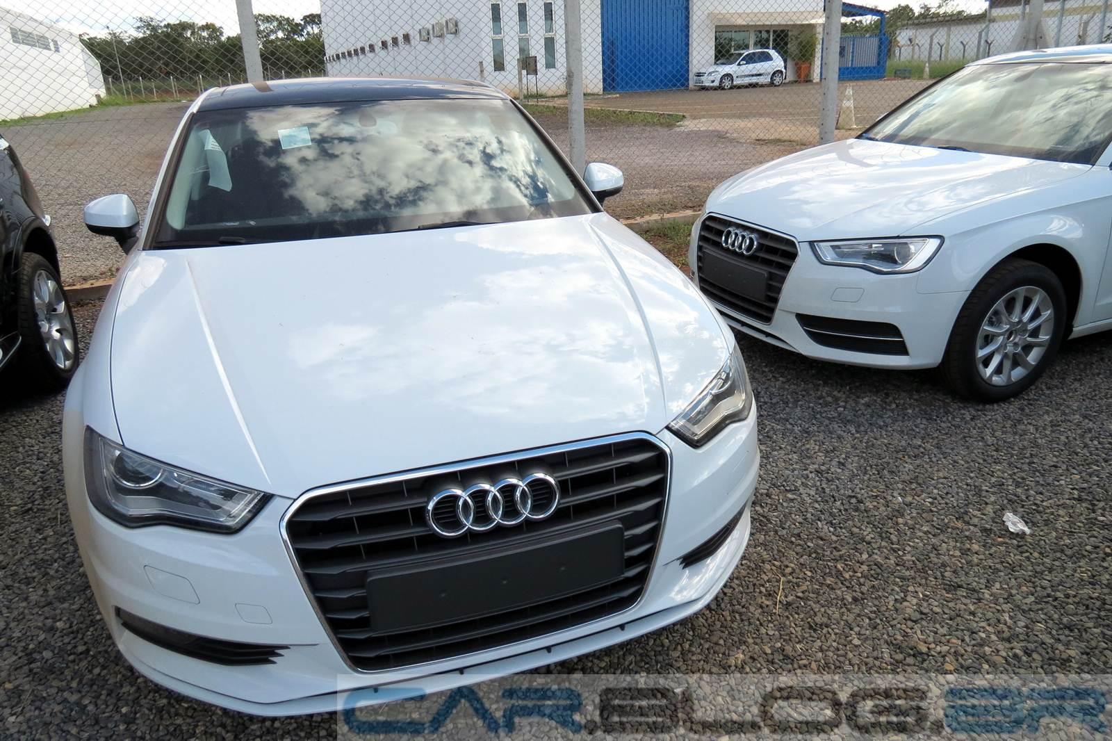 Audi A3 Sedan  (esquerda) x Audi A3 Hatch (direita)