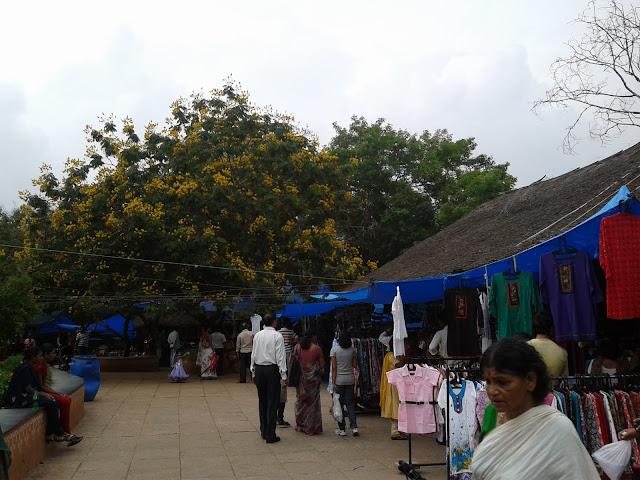 Village bazaar Shilparamam