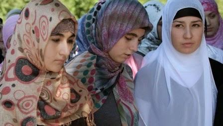 tren hijab Chechnya