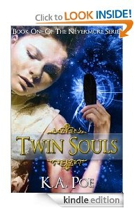 Free eBook Feature: Twin Souls (Nevermore, Book 1) by K.A. Poe