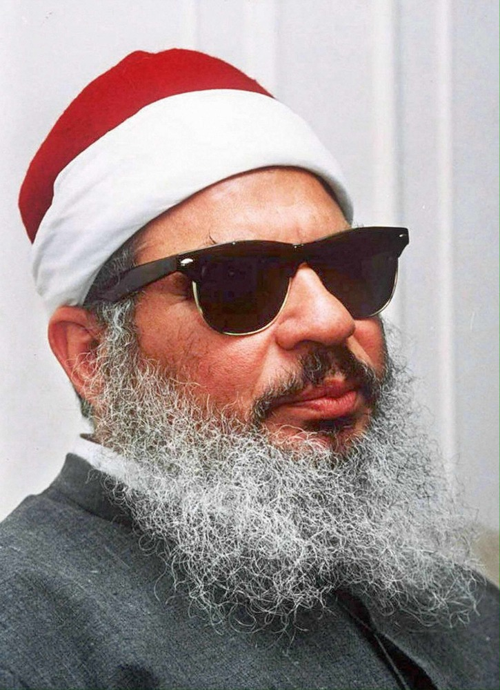 THE BLIND SHEIKH, DEAD AT 78.
