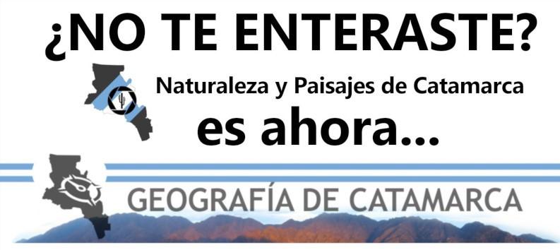 Naturaleza y Paisajes de Catamarca