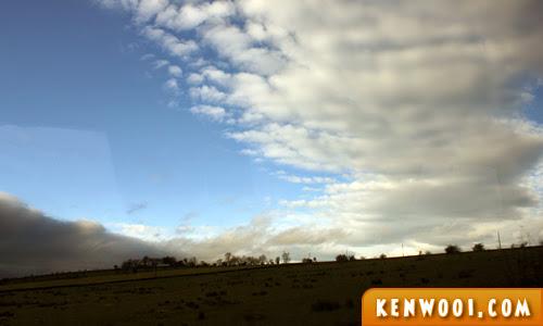 uk blue sky