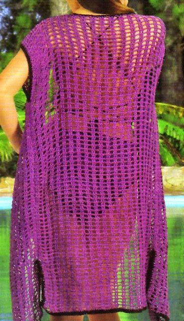 Lenceria De Baño Tejida A Crochet: crochet: un traje y una salida de baño tejida en crochet (talle 44