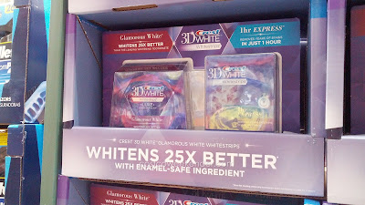 Get your teeth gleaming white with Crest 3D Whitestrips