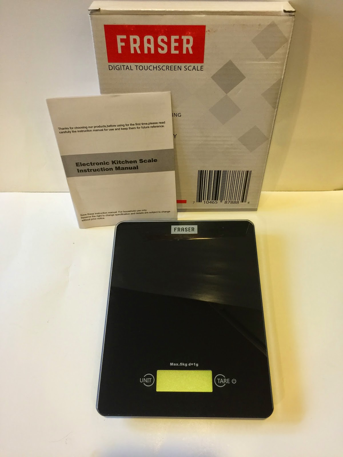 Beauty Tech Reviews Fraser Digital Kitchen Scale Review