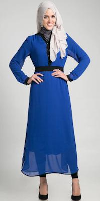 Contoh Model Dress Muslimah untuk Remaja