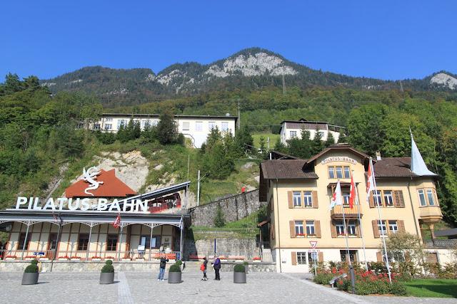 PIlatus Bahn or Mount Pilatus at Lucerne, Switzerland