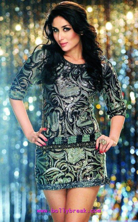 Kareena Kapoor Short Dres Heroine Hot - Kareena Kapoor Heroine Movie Hot Stills