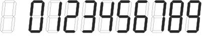 цифры 0 1 2 3 4 5 6 7 8 9