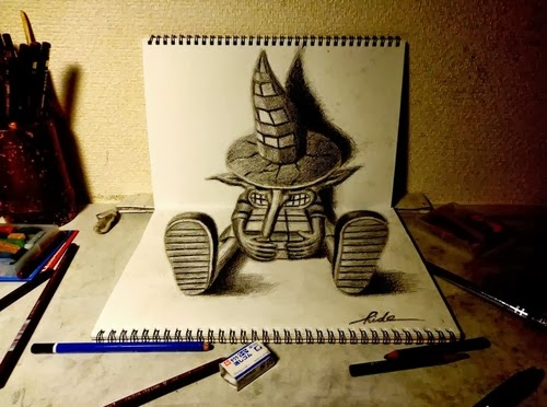 13-NAGAI-HIDEYUKI-Hide-永井-秀幸-3D-Pencil-Drawings-www-designstack-co