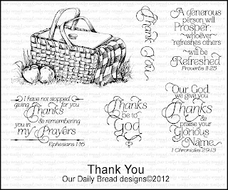 Our Daily Bread Designs, Thank You