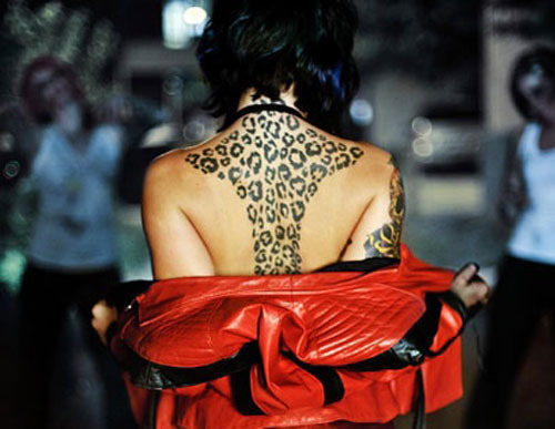 Cheetah Print Tattoos