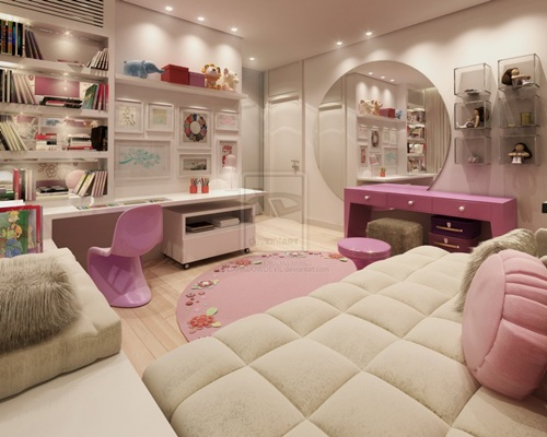 Interior design ideas bedroom teenage girls