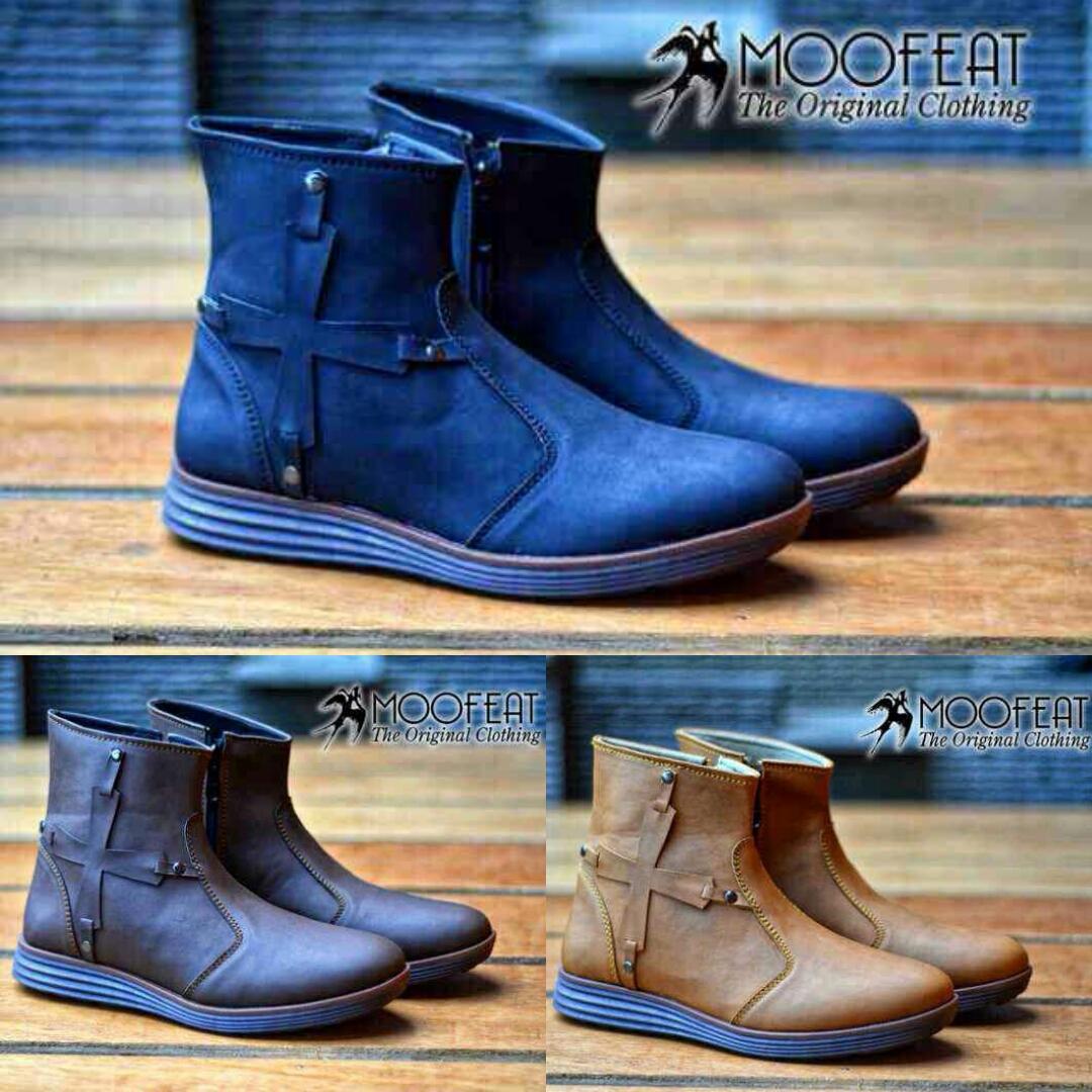 G Shoesid Grosir Sepatu Murah Bandung Update Moofeat Lunnar Tan Idr 270000 Hm Independent Boots 40 43