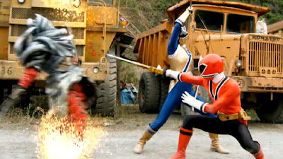 power rangers fight training