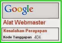 Cara Memperbaiki kesalahan Perayapan 404 di Webmaster tools