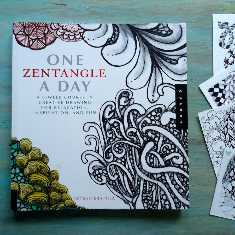 One Zentangle a Day book by Beckah Krahula