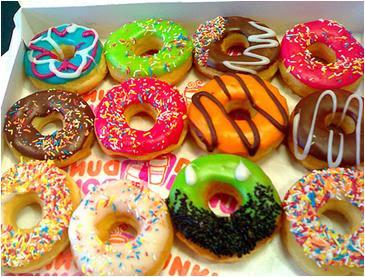 donuts, várias rosquinhas apetitosas