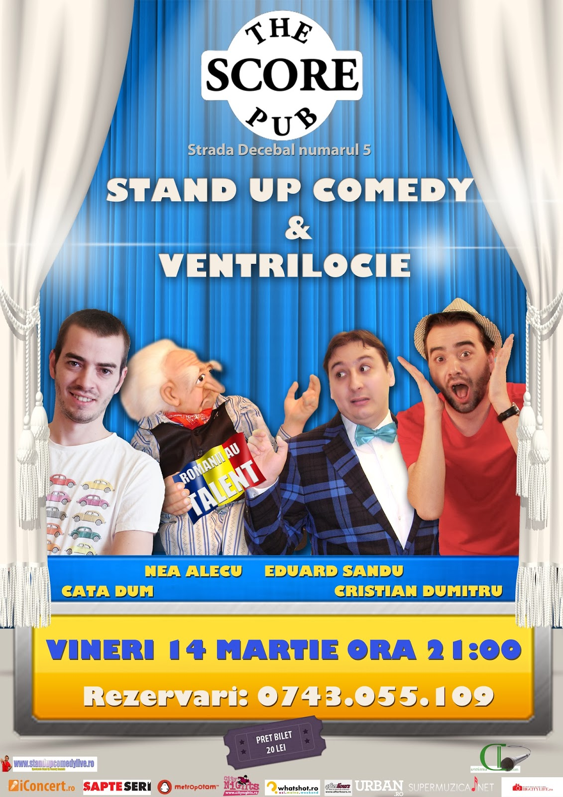 stand-up coemdy satu mare