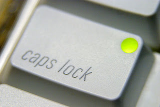 International Caps Lock Day, keyboard, October 22