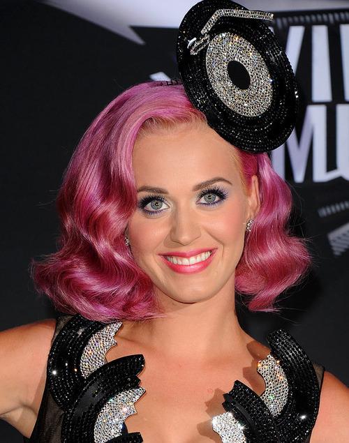 peinados 2015+cabello+rosa