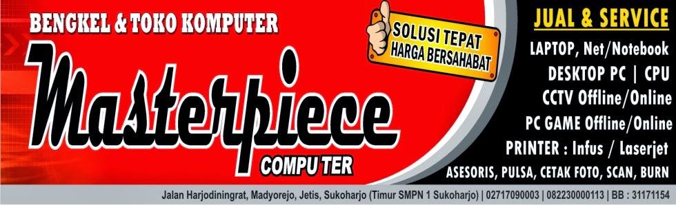 Masterpiece Computer Sukoharjo | Jl. Harjodiningrat, Jetis, Sukoharjo, Kota