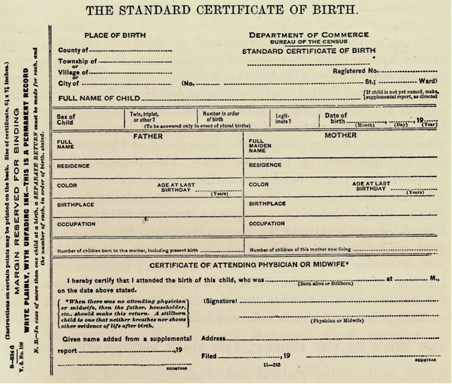 Birth Certificate For Cruzs Mother Is Not Acceptable Is Not