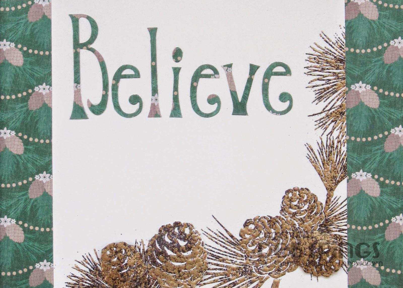 Believe - photo by Deborah Frings - Deborah's Gems