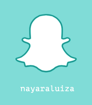 Me siga também no Snapchat