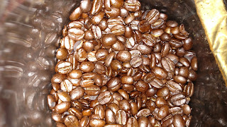 Peet's Coffee Guatemala San Sebastian- closeup of coffee beans