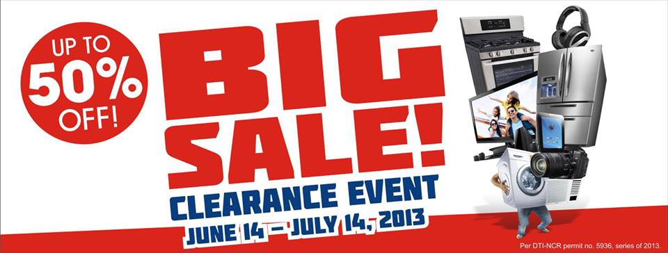 July 14, 2013! Enjoy up to 50% off on selected items in all Western