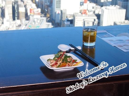 tokyo shiodome grand city view