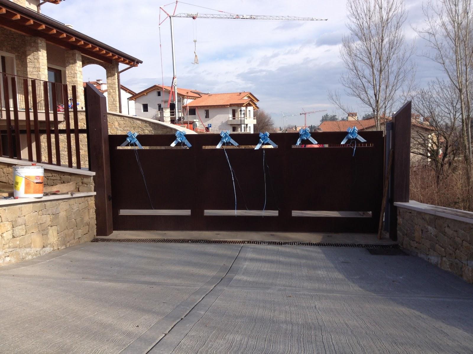 Cancelli moderni cancelli da esterno cancelli moderni for Cancello scorrevole leroy merlin