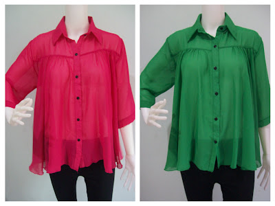 Qashmere Malaysian Online Shopping, New trend blouse, chiffon blouse, chiffon top, elegant chiffon blouse, plus size fashion, Sale Chiffon Top, Clothing Online Sale, Sheer Chiffon Flared Blouse