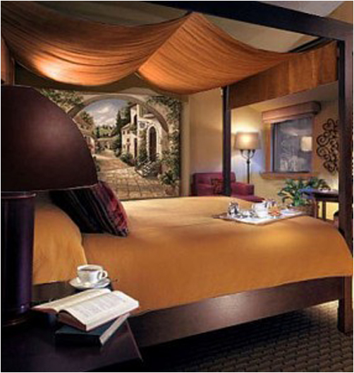 Tuscan bedroom design ideas room design inspirations for Tuscan design ideas