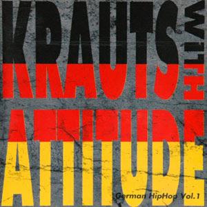 Various – Krauts With Attitude – German HipHop Vol. 1 (1991, CD, 320)