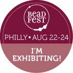 Bead Fest Philly August 2014 Booth #371