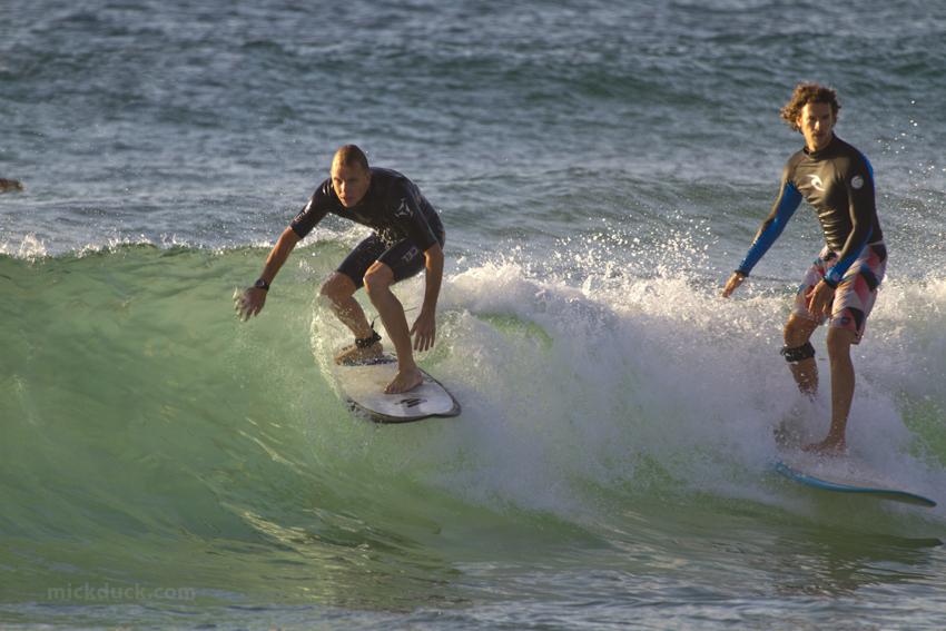 Bondi Rescue Reidy Surfing