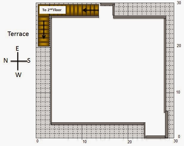 My little indian villa 13 r6 2 houses in 30x30 west for 30x30 house plans