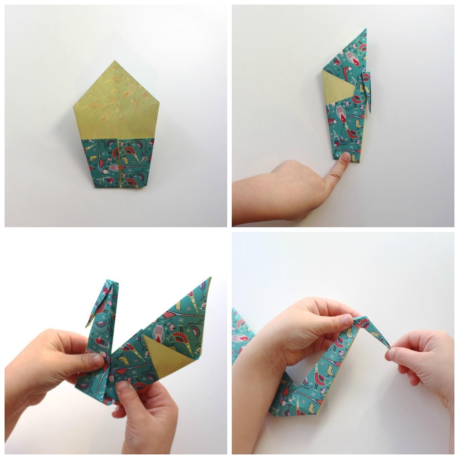 Paso a paso como hacer un cisne en origami soy un mix - Como hacer un estor enrollable paso a paso ...