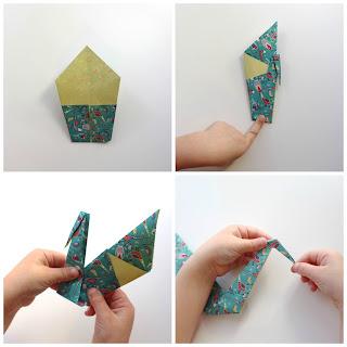 Paso a paso: Cisne en origami. www.soyunmix.com