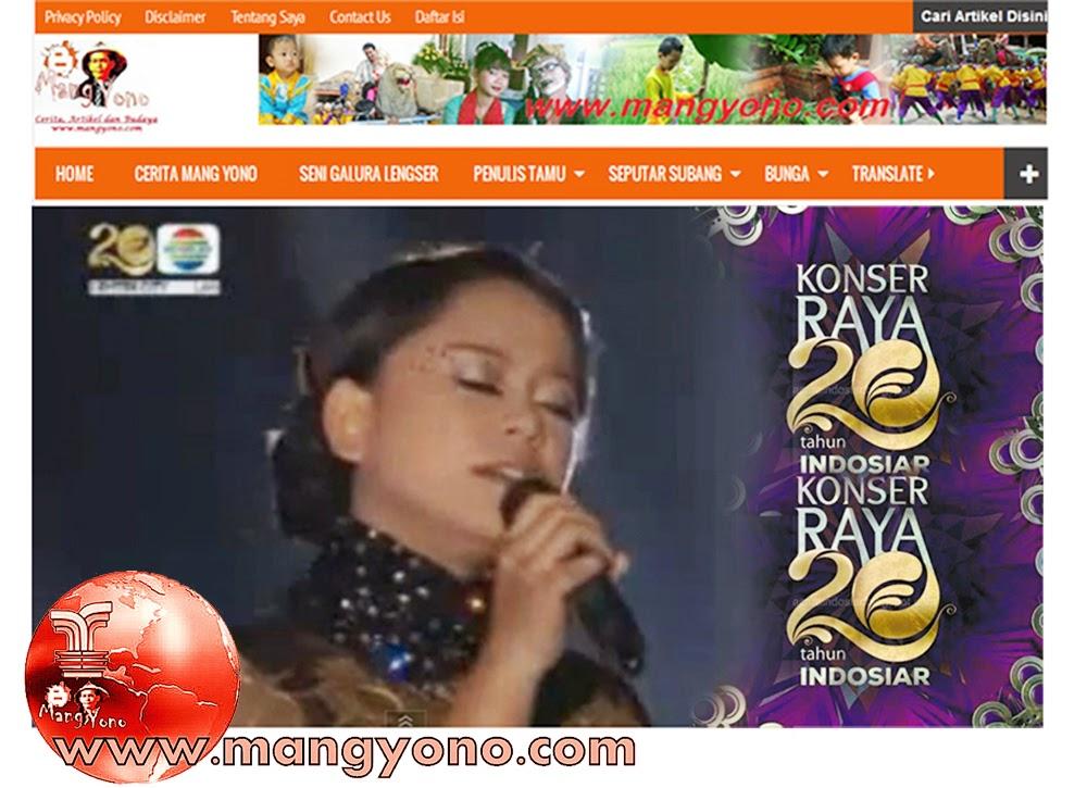 Konser Raya 20 Tahun Indosiar di Studio 6 Emtek City