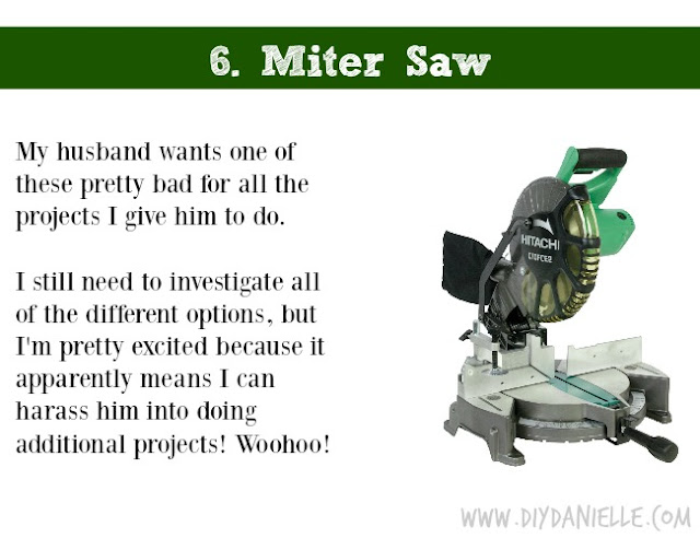 Holiday DIY Gift Guide: Miter Saw