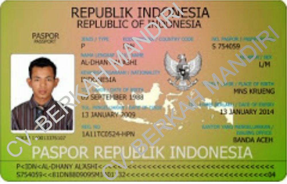 Kartu Paspor